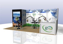 green trade show exhibits Atlanta